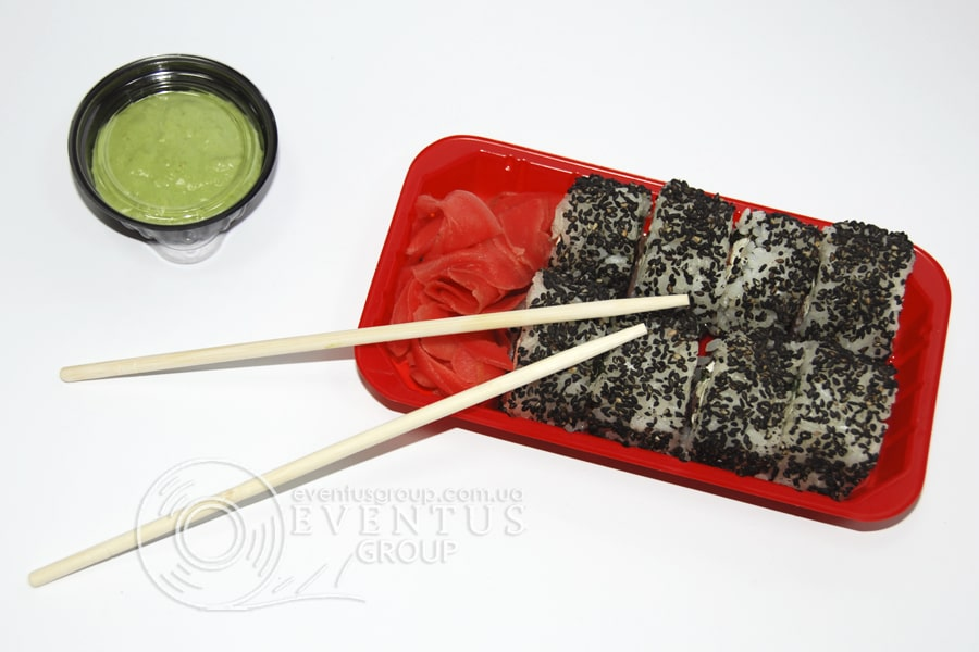 Контейнер для суши на 1 ролл